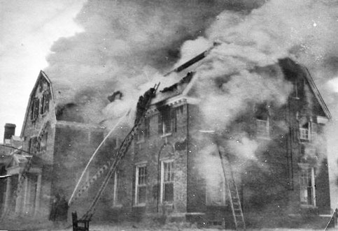 1929 fire at Delta Tau Delta