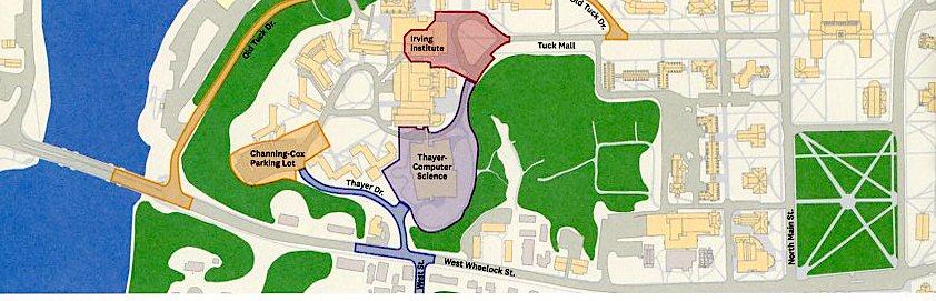 West End construction map
