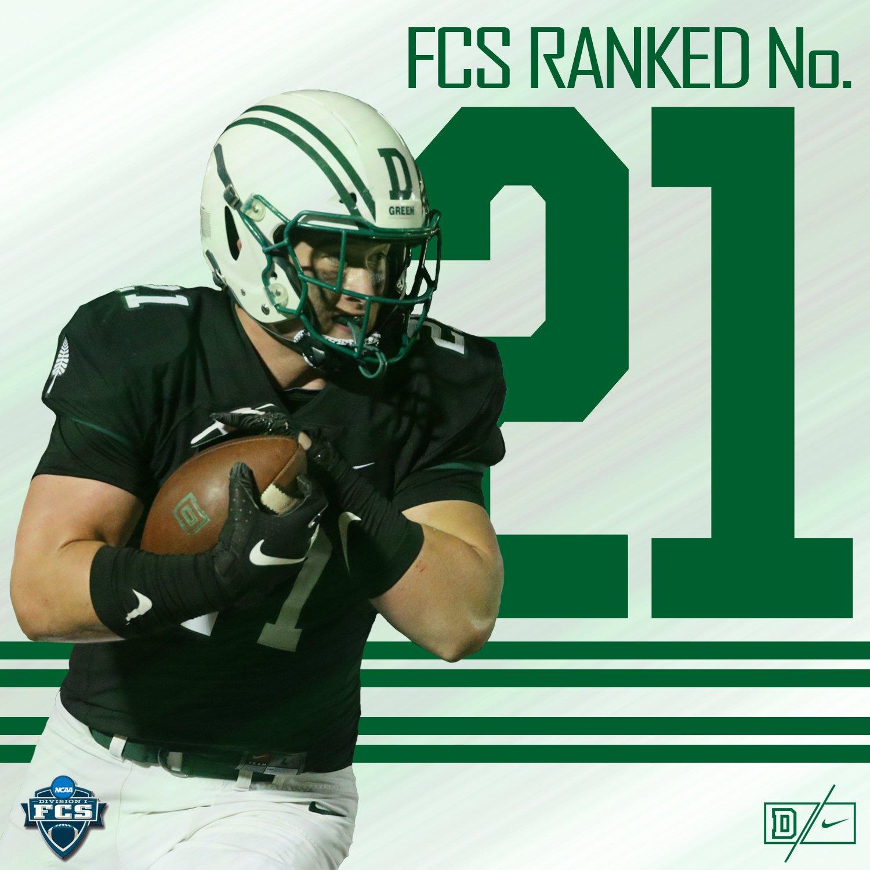 FCS Ranked No. 21