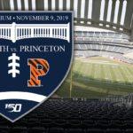 Crest advertising the Dartmouth–Princeton game at Yankee Stadium